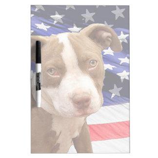 American Pitbull puppy Dry-Erase Board