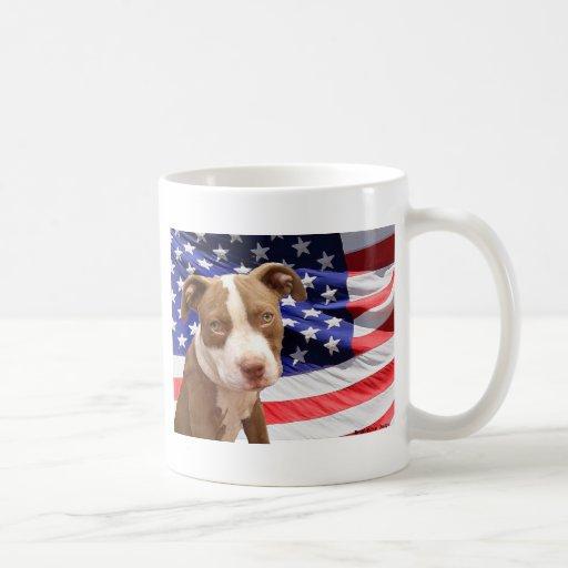 American Pitbull puppy Mugs