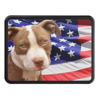 American Pitbull Terrier pup Tow Hitch Cover