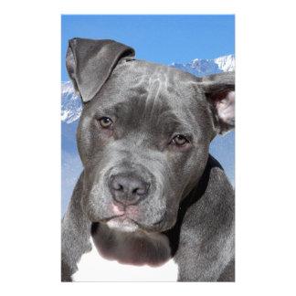 American Pitbull Terrier Puppy Dog Stationery