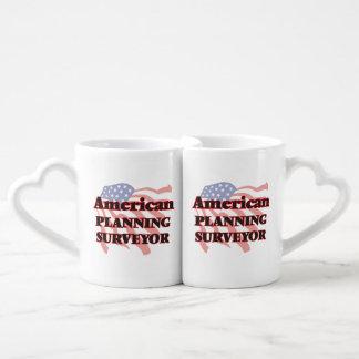 American Planning Surveyor Couples' Coffee Mug Set