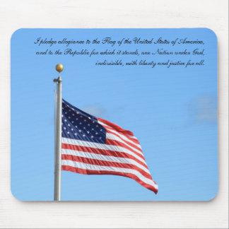 American Pledge Mouse Pad