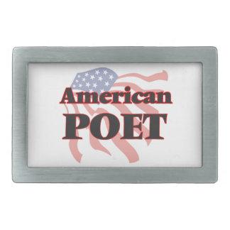 American Poet Belt Buckles