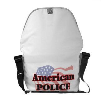American Police Officer Messenger Bags