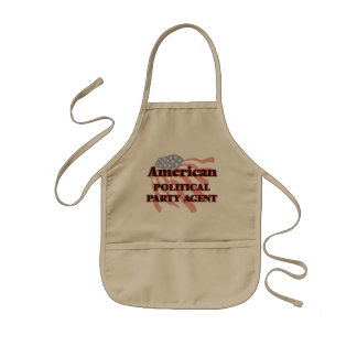 American Political Party Agent Kids' Apron