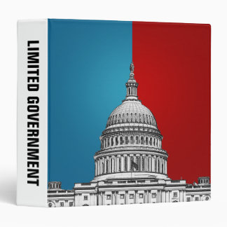 American Politics 3 Ring Binder