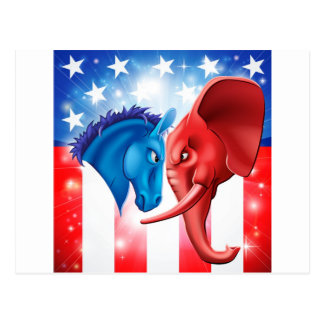 American Politics Concept Postcards