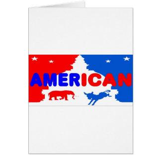 American Politics Greeting Card