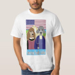 American Poodle Gothic T Shirt