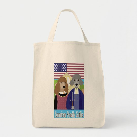 American Poodle Gothic Tote