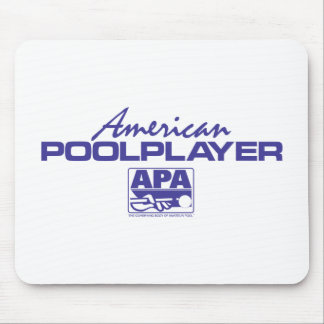 American Pool Player - Blue Mouse Pad