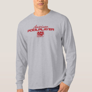 American Pool Player - Red Tee Shirt