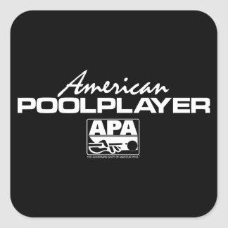 American Pool Player Sticker