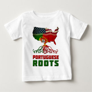American Portuguese Roots Baby T-Shirt