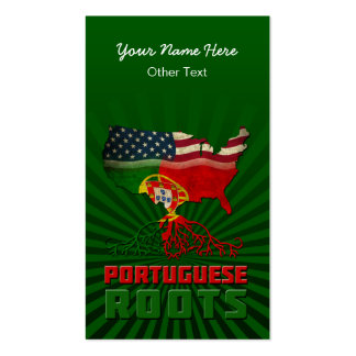 American Portuguese Roots Business Cards