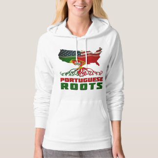 American Portuguese Roots Hooded Pullovers