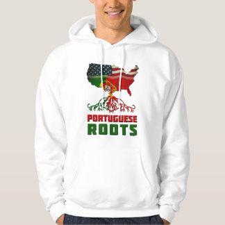 American Portuguese Roots Hoodie