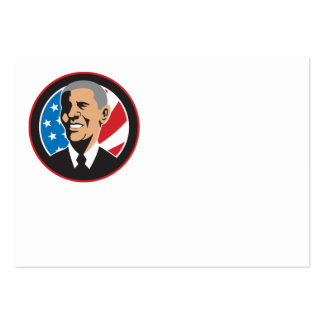 American President Barack Obama 2012 Business Card Templates