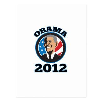 American President Barack Obama 2012 Post Cards