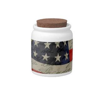 American president candy jars