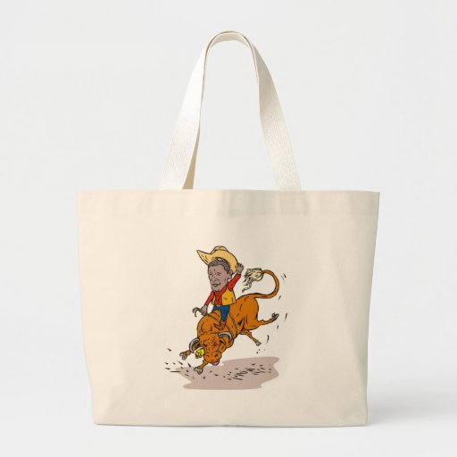 American President Obama Rodeo Cowboy Bags