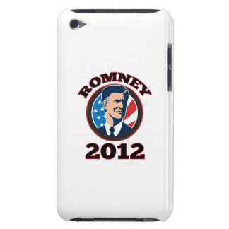 American Presidential Candidate Mitt Romney retro iPod Touch Covers