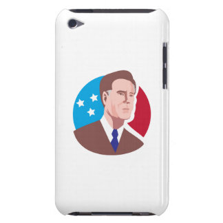 American Presidential Candidate Mitt Romney retro Barely There iPod Cover