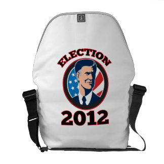 American Presidential Candidate Mitt Romney retro Courier Bags