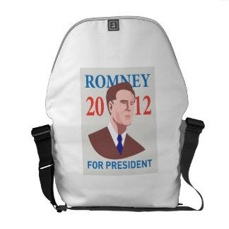 American Presidential Candidate Mitt Romney retro Messenger Bags