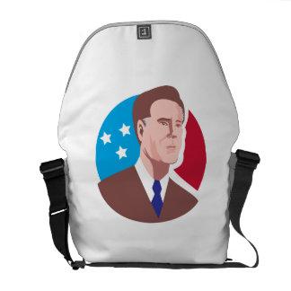 American Presidential Candidate Mitt Romney retro Commuter Bag