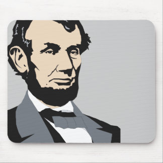American Presidents: Abraham Lincoln 1861-1865 Mouse Pad