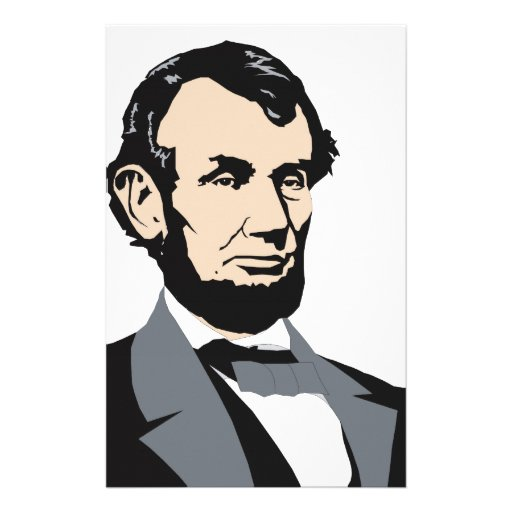 American Presidents: Abraham Lincoln 1861-1865 Stationery Paper