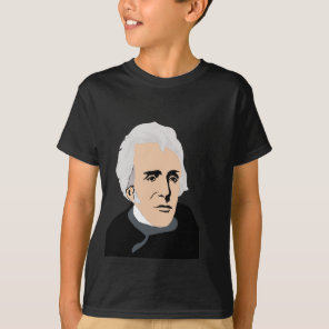 American Presidents: Andrew Jackson  1829 - 1837 T-Shirt