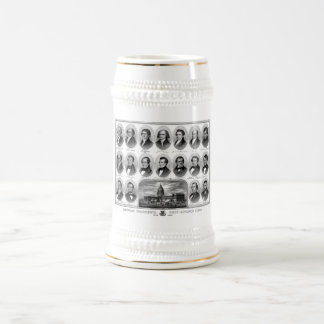 American Presidents First Hundred Years Beer Stein