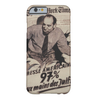 American press Propaganda Poster Barely There iPhone 6 Case