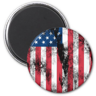 American_pride 2 Inch Round Magnet