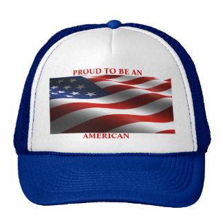 American Pride Baseball Cap Trucker Hat