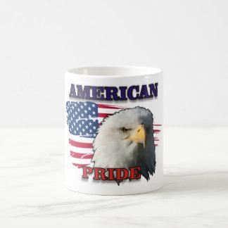 AMERICAN PRIDE CLASSIC WHITE COFFEE MUG