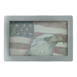 American Pride Eagle Belt Buckle