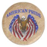 American Pride Eagle Dinner Plate