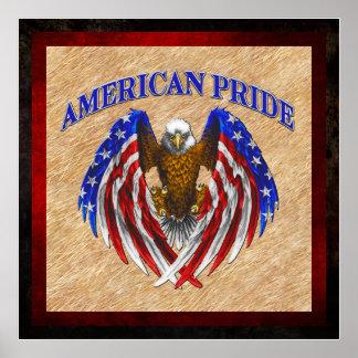 American Pride Eagle Posters