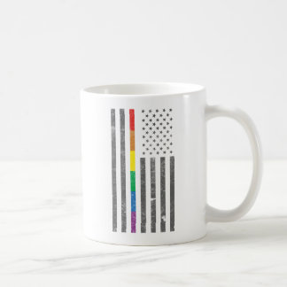 American Pride Flag Classic Mug