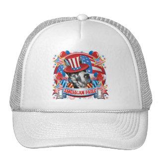 American Pride Great Dane Mesh Hats