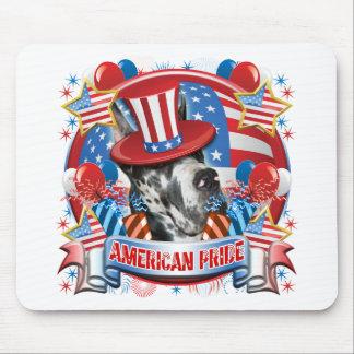 American Pride Great Dane Mouse Pad