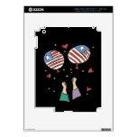 American Pride iPad 3 Decals