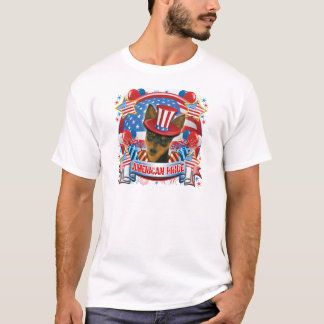 American Pride Min Pin T-Shirt
