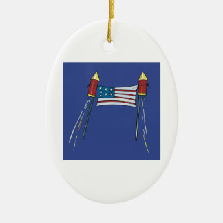 American Pride Christmas Ornaments
