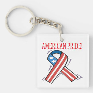 American Pride png Acrylic Key Chain