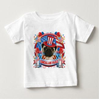american pride pug baby tshirt - American Pride T Shirt