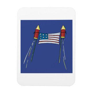 American Pride Rectangular Photo Magnet